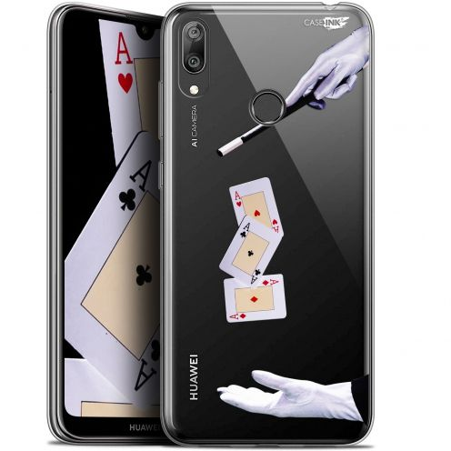 "Coque Gel Huawei Y7 / Prime / Pro 2019 (6.26"") Extra Fine Motif - Cartes Magiques"