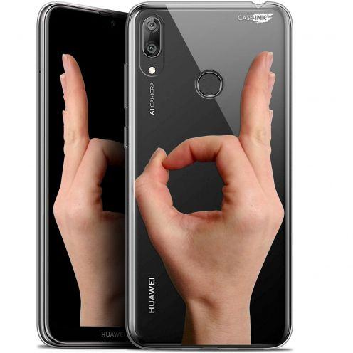 """Coque Gel Huawei Y7 / Prime / Pro 2019 (6.26"""") Extra Fine Motif - Le Jeu du Rond"""