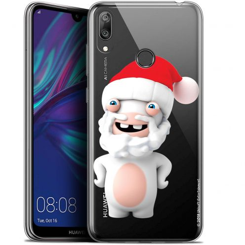 """Coque Gel Huawei Y7 / Prime / Pro 2019 (6.26"""") Extra Fine Lapins Crétins™ - Lapin Noël"""