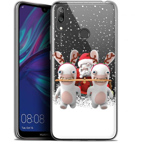 """Coque Gel Huawei Y7 / Prime / Pro 2019 (6.26"""") Extra Fine Lapins Crétins™ - Lapin Traineau"""