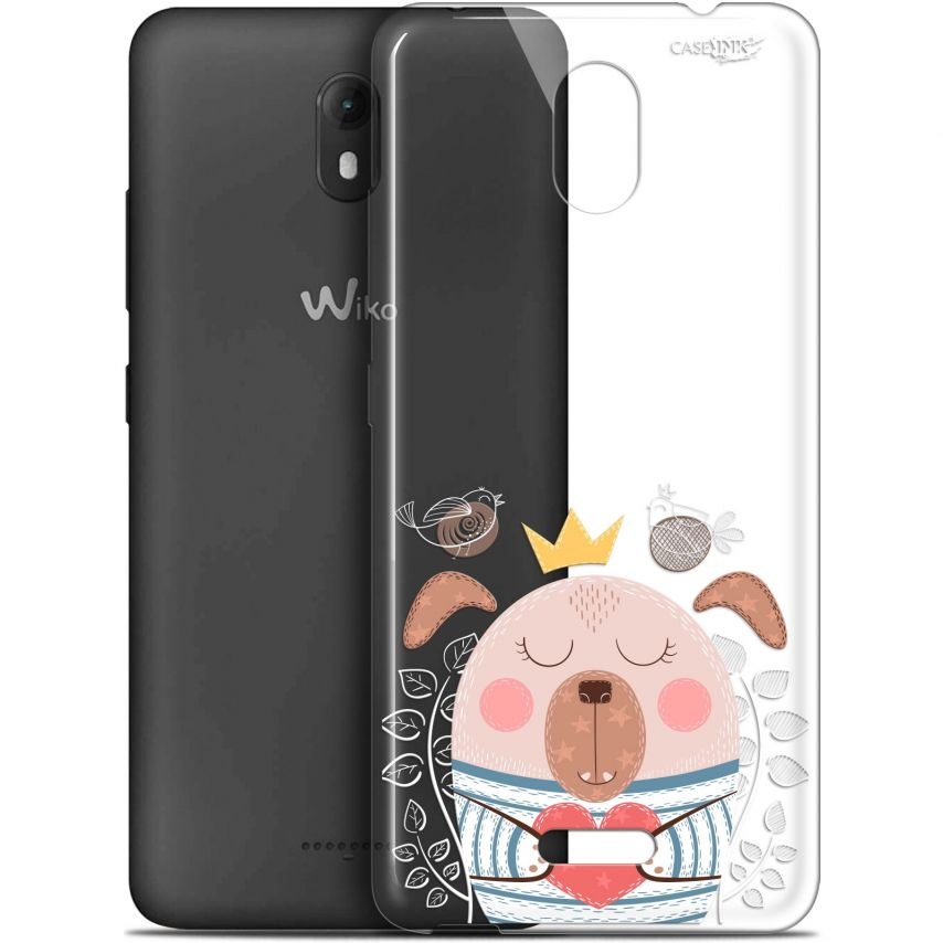 "Coque Gel Wiko View GO (5.7"") Extra Fine Motif - Sketchy Dog"