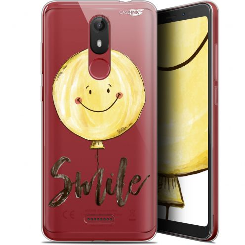 "Coque Gel Wiko View LITE (5.45"") Extra Fine Motif - Smile Baloon"