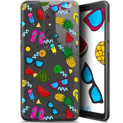 "Coque Gel Wiko View XL (5.99"") Extra Fine Motif -  Summers"