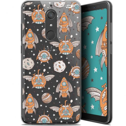 "Coque Gel Wiko View XL (5.99"") Extra Fine Motif -  Punk Space"