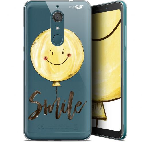 "Coque Gel Wiko View XL (5.99"") Extra Fine Motif -  Smile Baloon"