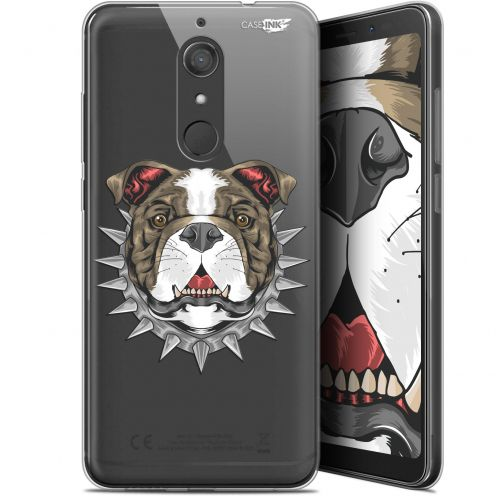 "Coque Gel Wiko View XL (5.99"") Extra Fine Motif -  Doggy"