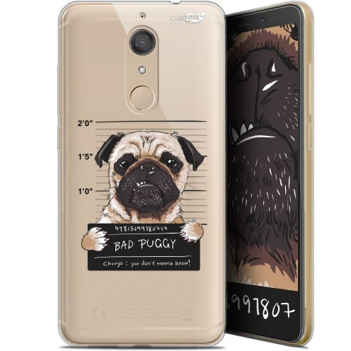 "Coque Gel Wiko View XL (5.99"") Extra Fine Motif -  Beware The Puggy Dog"