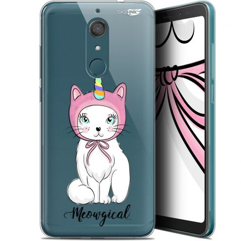 "Coque Gel Wiko View XL (5.99"") Extra Fine Motif -  Ce Chat Est MEOUgical"