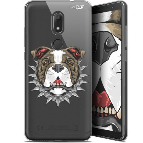 """Coque Gel Wiko View PRIME (5.7"""") Extra Fine Motif -  Doggy"""