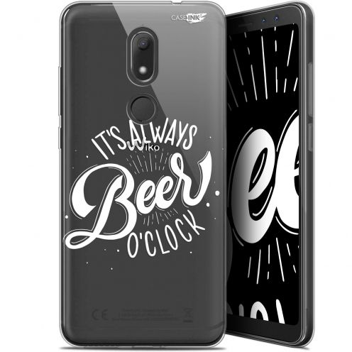 """Coque Gel Wiko View PRIME (5.7"""") Extra Fine Motif -  Its Beer O'Clock"""