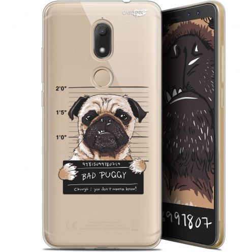 """Coque Gel Wiko View PRIME (5.7"""") Extra Fine Motif -  Beware The Puggy Dog"""