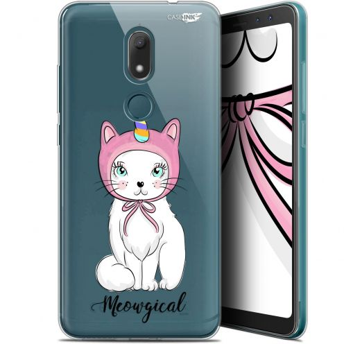 """Coque Gel Wiko View PRIME (5.7"""") Extra Fine Motif -  Ce Chat Est MEOUgical"""