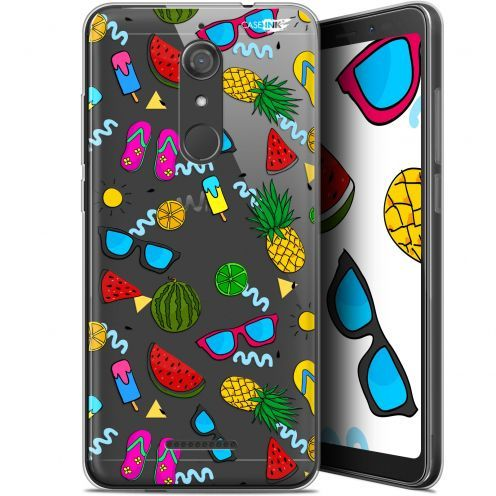 "Coque Gel Wiko View (5.7"") Extra Fine Motif - Summers"