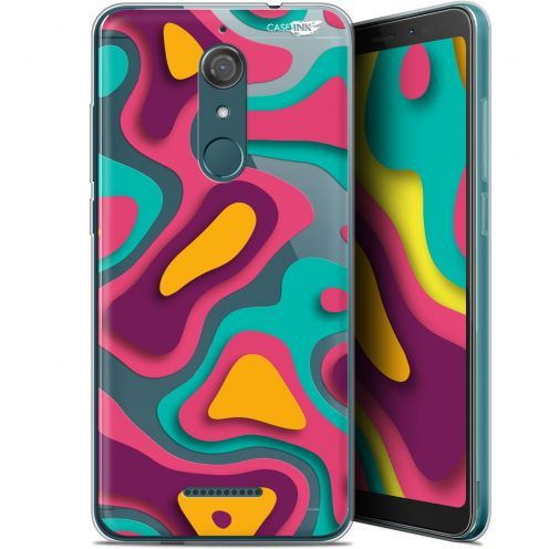 "Coque Gel Wiko View (5.7"") Extra Fine Motif - Popings"