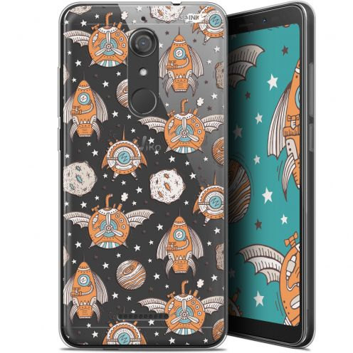 "Coque Gel Wiko View (5.7"") Extra Fine Motif - Punk Space"