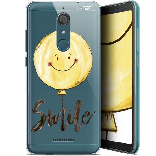 "Coque Gel Wiko View (5.7"") Extra Fine Motif - Smile Baloon"
