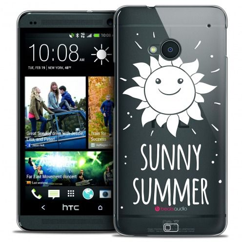 Coque Crystal HTC One (M7) Extra Fine Summer - Sunny Summer