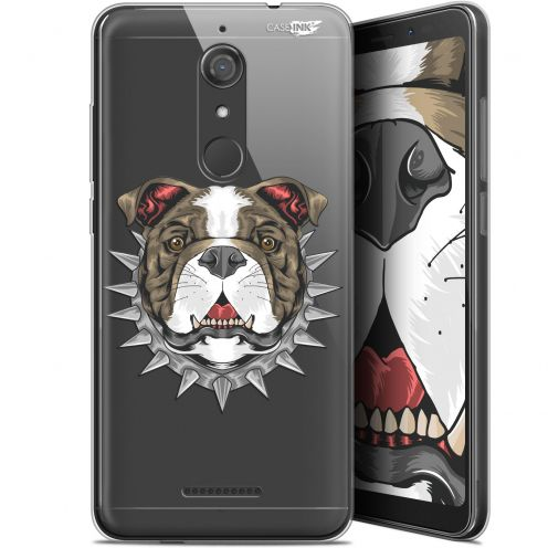 """Coque Gel Wiko View (5.7"""") Extra Fine Motif -  Doggy"""