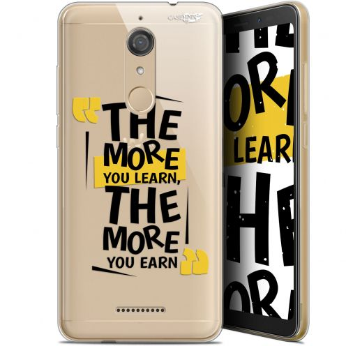 """Coque Gel Wiko View (5.7"""") Extra Fine Motif -  The More You Learn"""