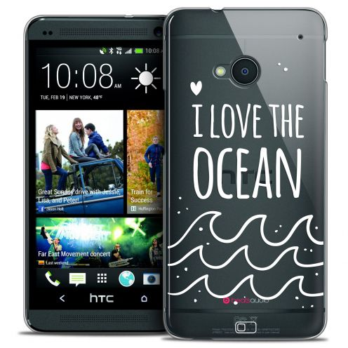 Coque Crystal HTC One (M7) Extra Fine Summer - I Love Ocean
