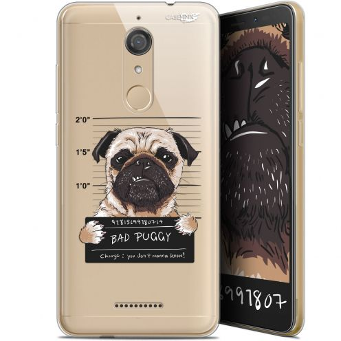 "Coque Gel Wiko View (5.7"") Extra Fine Motif -  Beware The Puggy Dog"