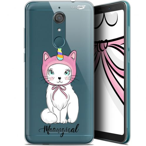 """Coque Gel Wiko View (5.7"""") Extra Fine Motif -  Ce Chat Est MEOUgical"""