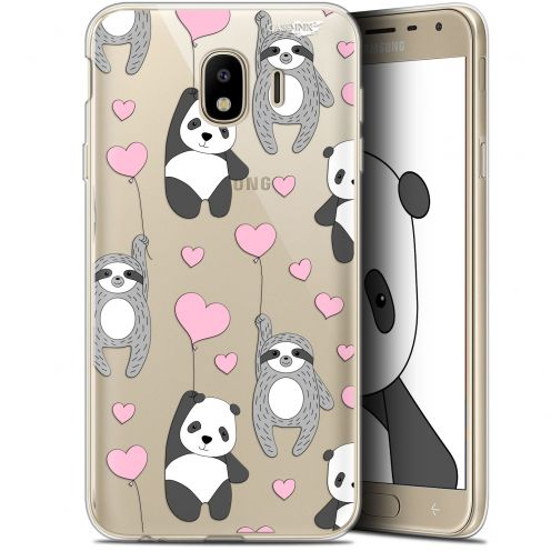 "Coque Gel Samsung Galaxy J4 2018 J400 (5.7"") Extra Fine Motif - Panda'mour"
