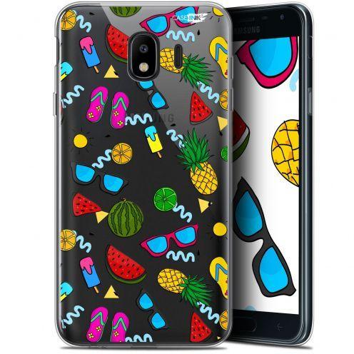 "Coque Gel Samsung Galaxy J4 2018 J400 (5.7"") Extra Fine Motif -  Summers"