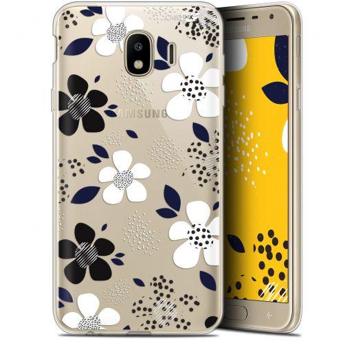 "Coque Gel Samsung Galaxy J4 2018 J400 (5.7"") Extra Fine Motif -  Marimeko Style"