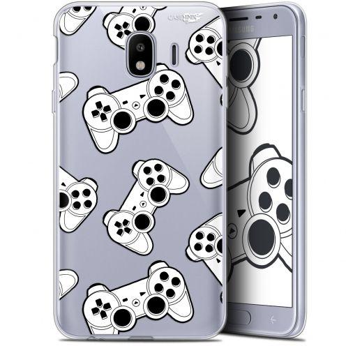 "Coque Gel Samsung Galaxy J4 2018 J400 (5.7"") Extra Fine Motif - Game Play Joysticks"