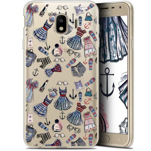 """Coque Gel Samsung Galaxy J4 2018 J400 (5.7"""") Extra Fine Motif -  Fashionista"""