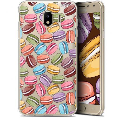 "Coque Gel Samsung Galaxy J4 2018 J400 (5.7"") Extra Fine Motif - Macarons"