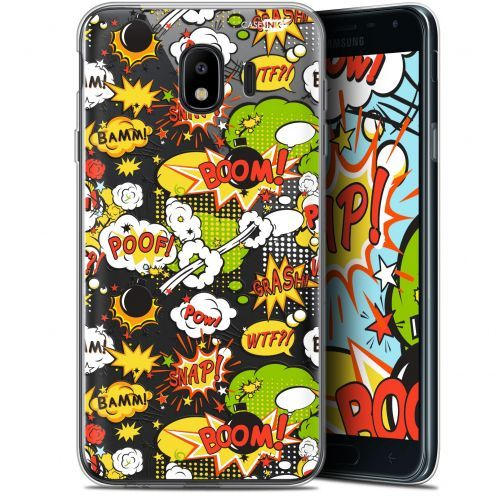 "Coque Gel Samsung Galaxy J4 2018 J400 (5.7"") Extra Fine Motif -  Bim Bam Boom"