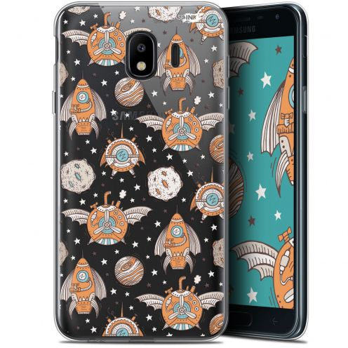 "Coque Gel Samsung Galaxy J4 2018 J400 (5.7"") Extra Fine Motif - Punk Space"