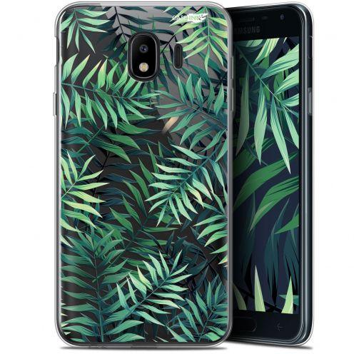 """Coque Gel Samsung Galaxy J4 2018 J400 (5.7"""") Extra Fine Motif - Feuilles des Tropiques"""