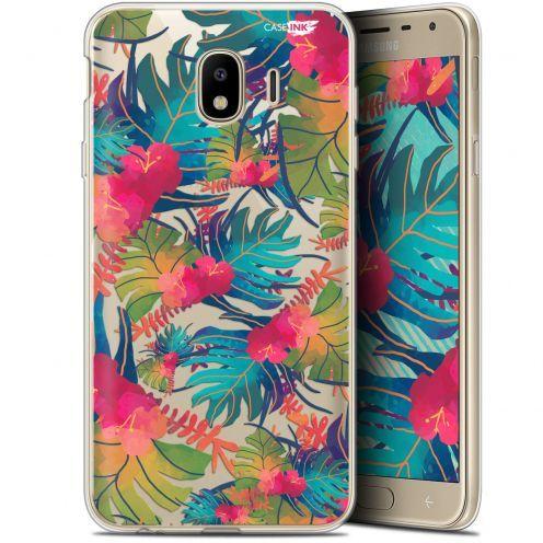 "Coque Gel Samsung Galaxy J4 2018 J400 (5.7"") Extra Fine Motif -  Couleurs des Tropiques"
