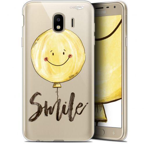 "Coque Gel Samsung Galaxy J4 2018 J400 (5.7"") Extra Fine Motif -  Smile Baloon"
