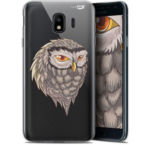 "Coque Gel Samsung Galaxy J4 2018 J400 (5.7"") Extra Fine Motif -  Hibou Draw"