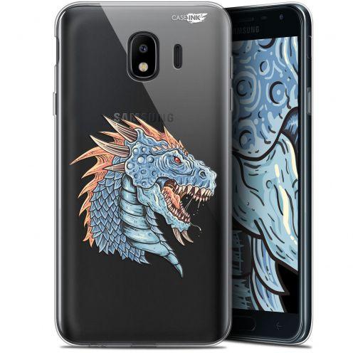 """Coque Gel Samsung Galaxy J4 2018 J400 (5.7"""") Extra Fine Motif -  Dragon Draw"""
