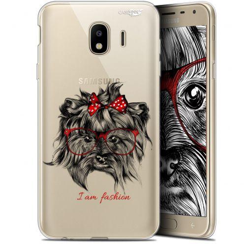 """Coque Gel Samsung Galaxy J4 2018 J400 (5.7"""") Extra Fine Motif -  Fashion Dog"""