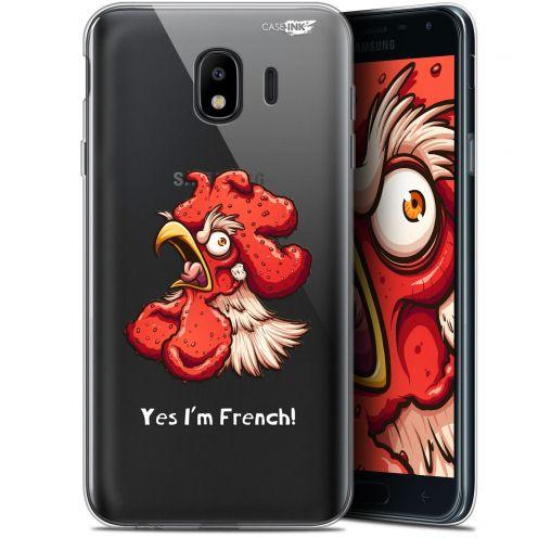 """Coque Gel Samsung Galaxy J4 2018 J400 (5.7"""") Extra Fine Motif -  I'm French Coq"""