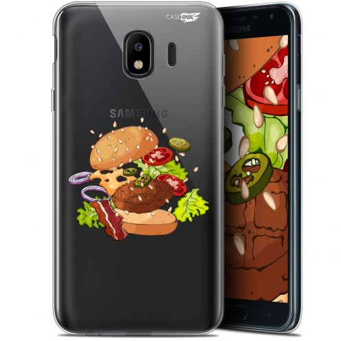 "Coque Gel Samsung Galaxy J4 2018 J400 (5.7"") Extra Fine Motif -  Splash Burger"