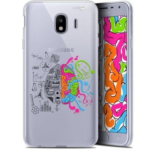 "Coque Gel Samsung Galaxy J4 2018 J400 (5.7"") Extra Fine Motif -  Le Cerveau"