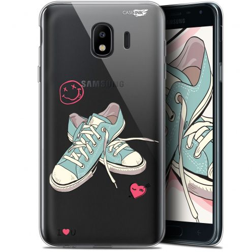 "Coque Gel Samsung Galaxy J4 2018 J400 (5.7"") Extra Fine Motif -  Mes Sneakers d'Amour"