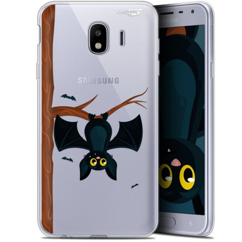 "Coque Gel Samsung Galaxy J4 2018 J400 (5.7"") Extra Fine Motif -  Petite Chauve Souris"