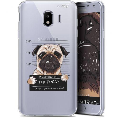 "Coque Gel Samsung Galaxy J4 2018 J400 (5.7"") Extra Fine Motif -  Beware The Puggy Dog"