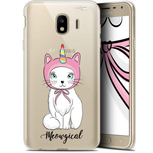 "Coque Gel Samsung Galaxy J4 2018 J400 (5.7"") Extra Fine Motif -  Ce Chat Est MEOUgical"