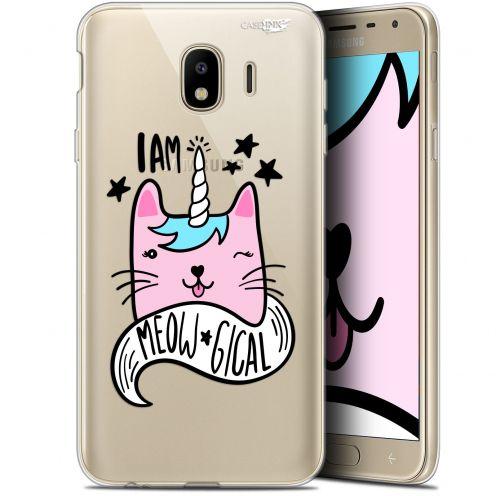 """Coque Gel Samsung Galaxy J4 2018 J400 (5.7"""") Extra Fine Motif -  I Am MEOUgical"""