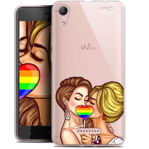 """Coque Gel Wiko Lenny 4 (5"""") Extra Fine Motif -  2 Girls 1 Candy"""