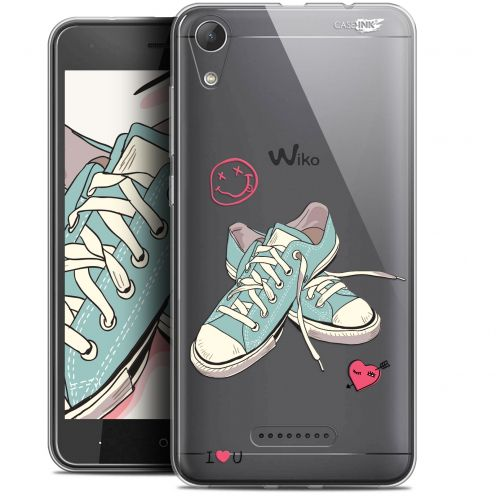 """Coque Gel Wiko Lenny 4 (5"""") Extra Fine Motif -  Mes Sneakers d'Amour"""